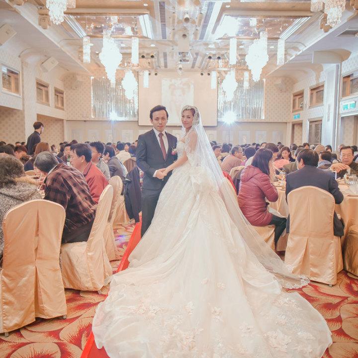 晶宴會館民生館婚禮記錄│學義+杏芸