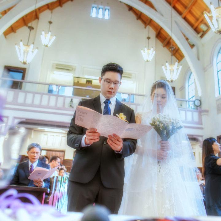 濟南教會婚禮紀錄│加信+怡君