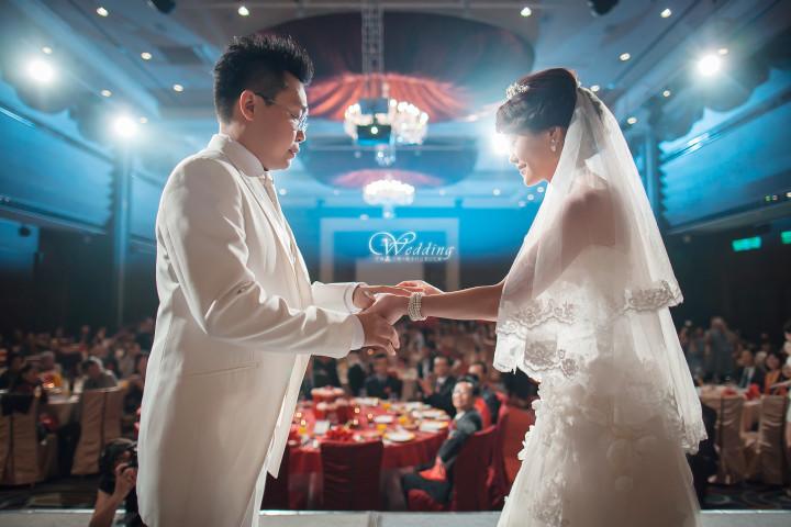 維多利亞酒店婚禮記錄│子威+宇衡