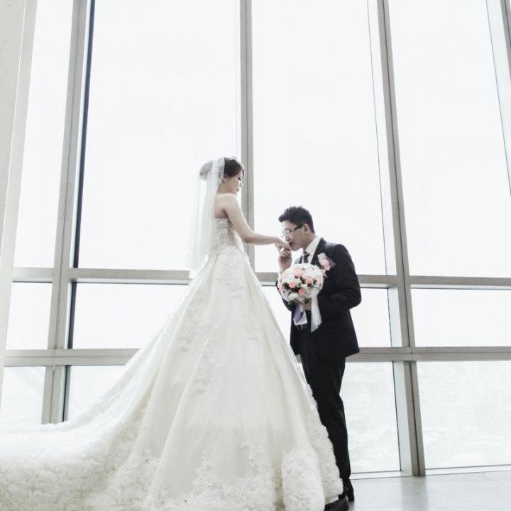 京華城雅悅婚宴會館婚禮記錄│華偉+茹雅