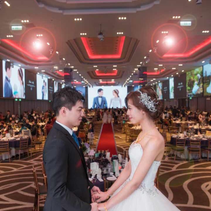 新莊頤品飯店婚禮紀錄│紫婕+英傑