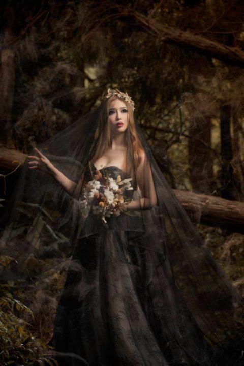 陽明山黑森林-單人寫真自助婚紗