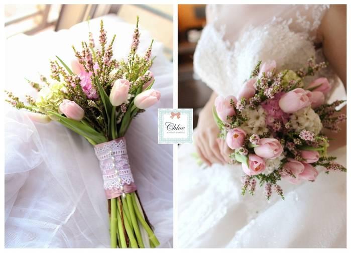 美式捧花大集合!讓你成為最美的新娘!!。
