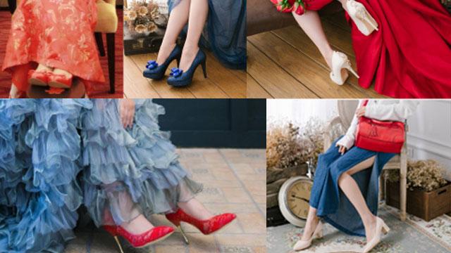 2018年驚艷全場的5種婚鞋搭配方法大公開!。