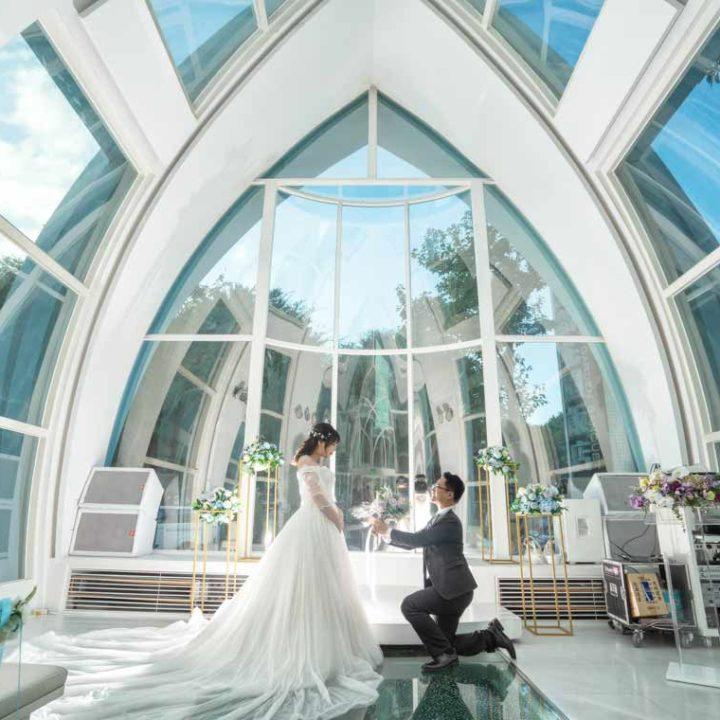 新靓點花園飯店星曲劇場婚禮紀錄│士峰+馨億