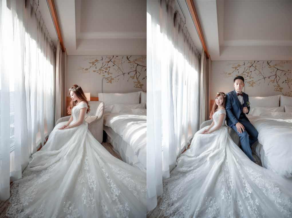 台北威斯汀六福皇宮婚禮記錄