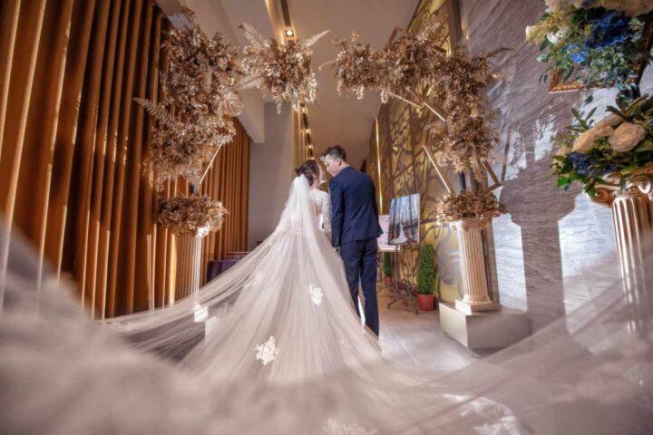 頤品大飯店新莊晶冠館金簦廳婚禮記錄│麒麟+怡頻