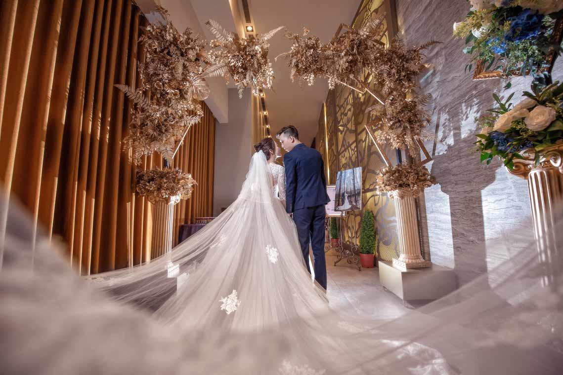 頤品大飯店新莊晶冠館金簦廳婚禮記錄