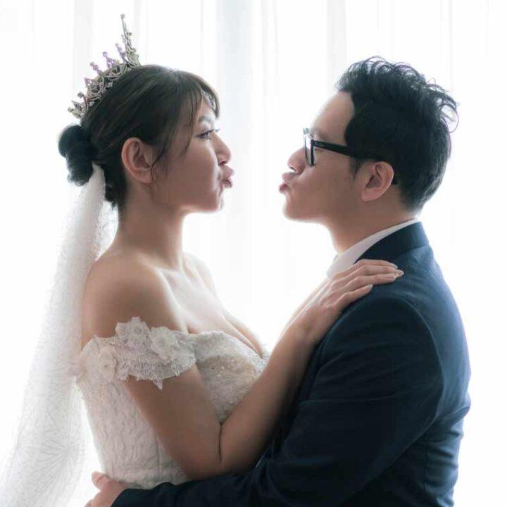 民權晶宴會館晴空香草園婚禮記錄│劭學+慧琪