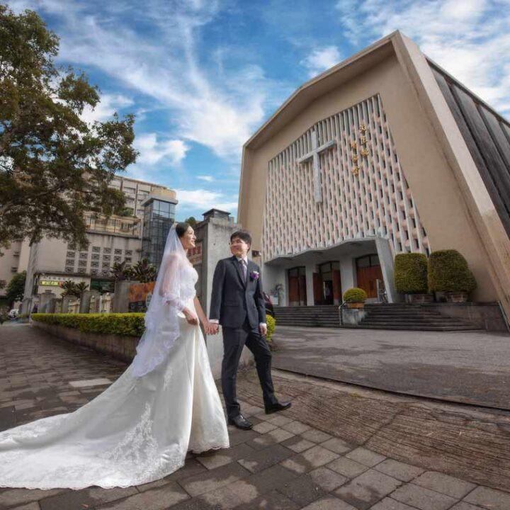 天主教聖家堂證婚天成飯店婚禮記錄│俊霖+育如