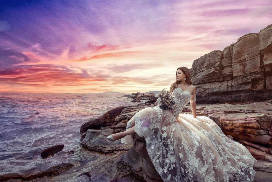 老英格蘭+神秘海岸婚紗拍攝
