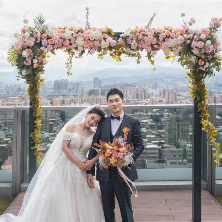 格萊天漾大飯店萬大廳婚禮記錄│威澤+映雪