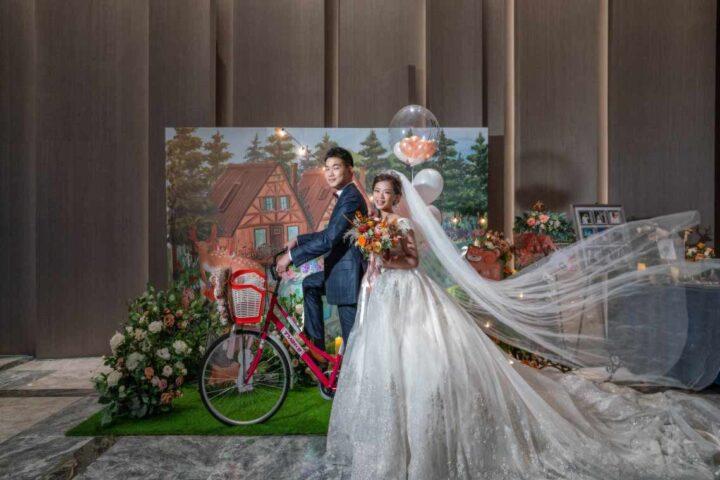 格萊天漾大飯店萬大廳婚禮記錄│威澤+映雪(合照搶鮮版)
