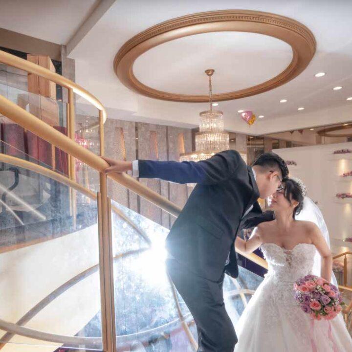上海鄉村新生宴會館A廳婚禮記錄│家逸+知昊