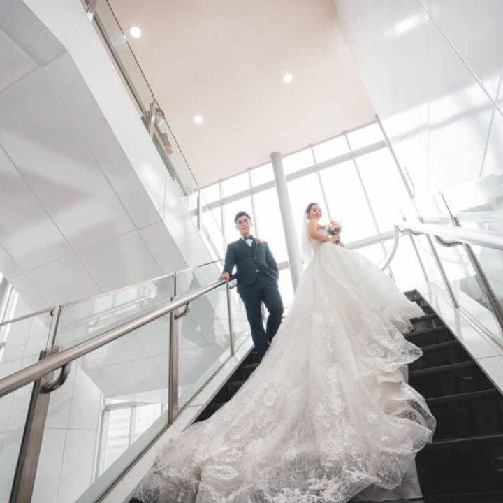 徐州路2号庭園會館402宴會廳婚禮記錄│冠中+紫婷