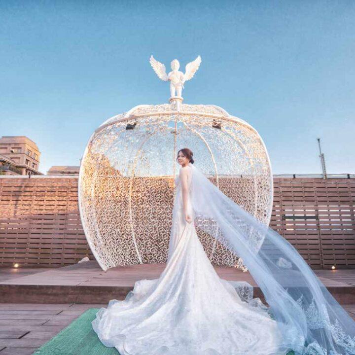 晶宴會館府中館采劇場婚禮記錄│威廷+湘菱(合照搶先版)
