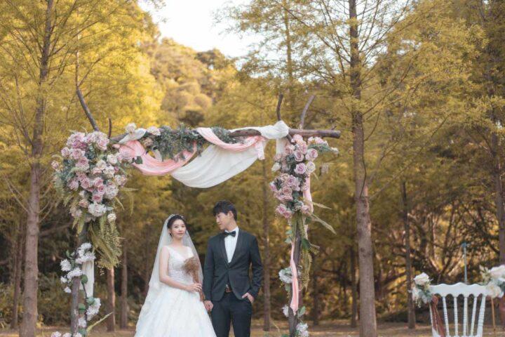 青青花園食尚會館星空之森婚禮記錄│家樺+奇勳(合照搶先版)
